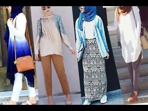 بالصور ملابس محجبات كاجوال للبدينات , ازياء للحجاب روعه 1289 2