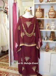 بالصور فساتين سهرة جزائرية , ملابس تقليديه من الجزائر 1290 5