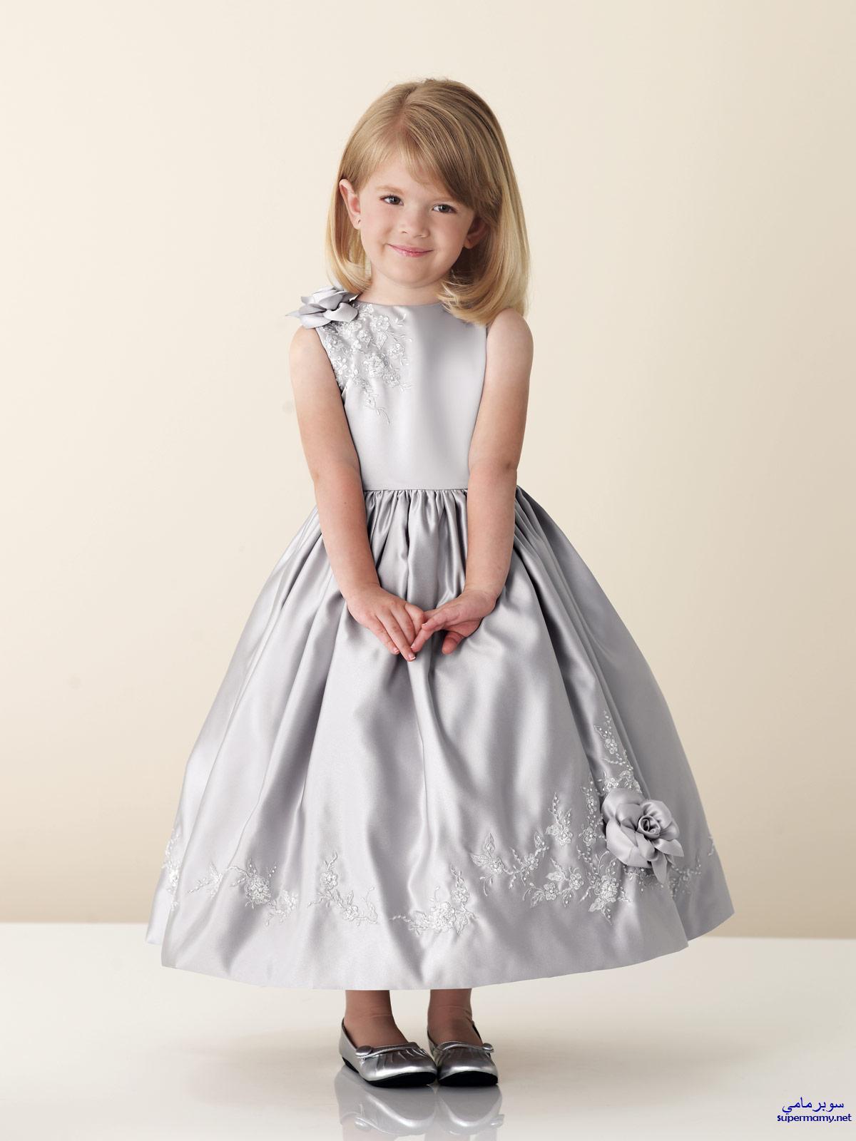 بالصور فساتين اطفال جديدة , تشكيلة منوعة لفستان بنوتة 1292 4
