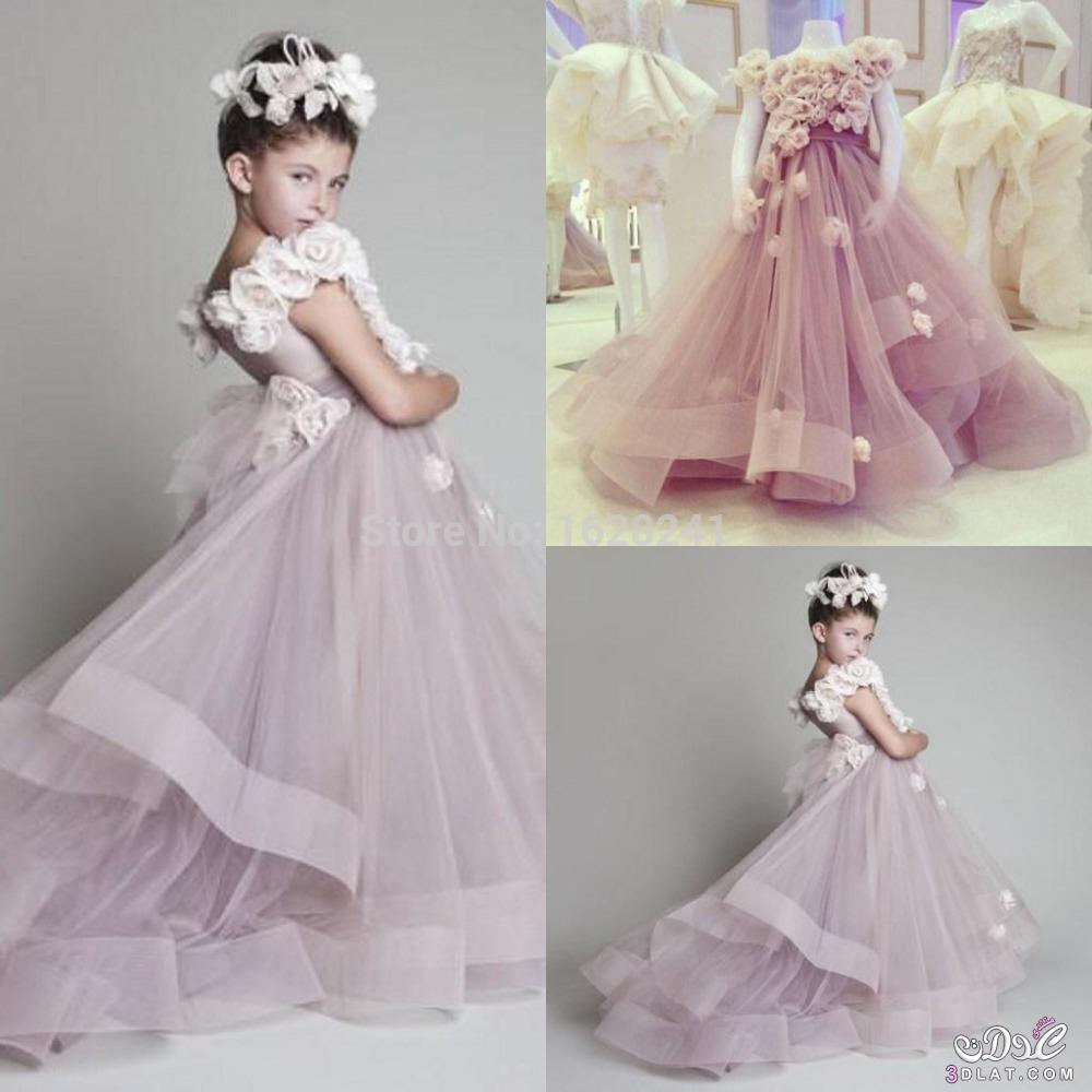 بالصور فساتين اطفال جديدة , تشكيلة منوعة لفستان بنوتة 1292 5