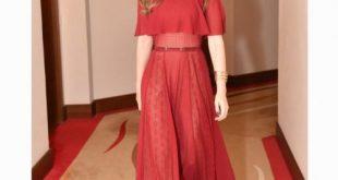 فساتين ورديه , موديل فستان ملون