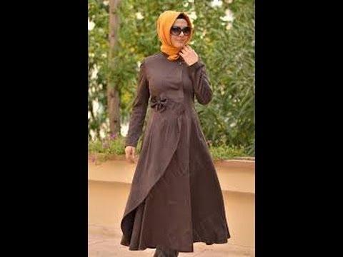 بالصور ملابس كلاسيكية للمحجبات , فساتين محجبات بسيطه 1322 2