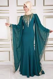 بالصور ملابس كلاسيكية للمحجبات , فساتين محجبات بسيطه 1322 3