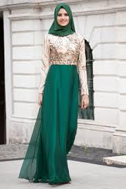 بالصور ملابس كلاسيكية للمحجبات , فساتين محجبات بسيطه 1322 5