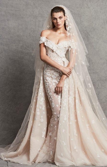 صوره اجمل فساتين اعراس , فساتين زفاف 2019