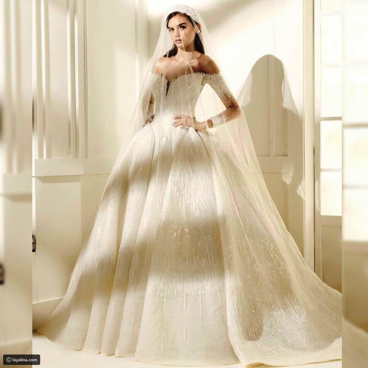 بالصور اجمل فساتين اعراس , فساتين زفاف 2019 1326 9