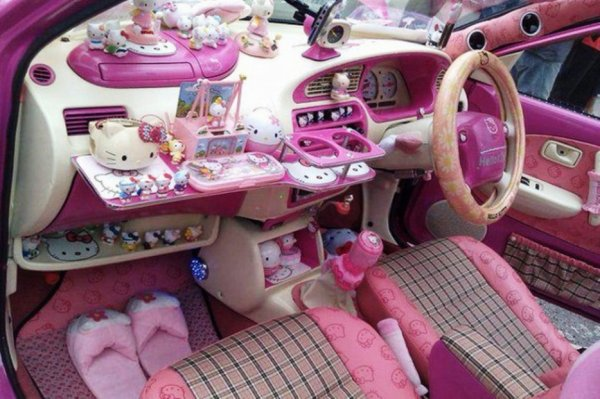 بالصور صور سيارات بنات , سيارات الوان بناتي 1456 7
