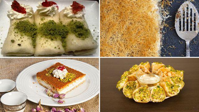 صوره حلويات رمضان بالصور , اجمل حلوبات رمضان