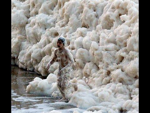 صور صور زبد البحر , سبحان الخالق اجمل صورة للبحر