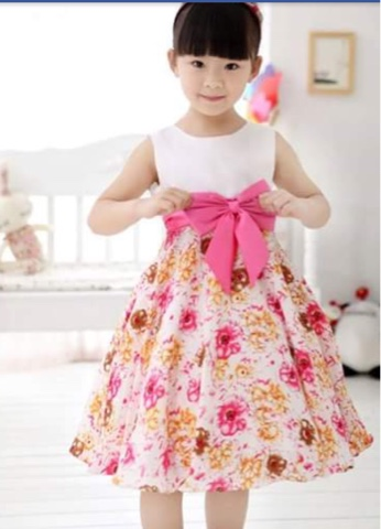 بالصور احدث فساتين الاطفال للعيد , اروع فستان للعيد 207 1
