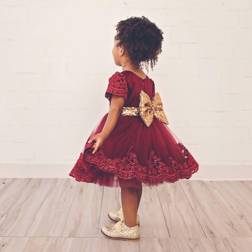 بالصور احدث فساتين الاطفال للعيد , اروع فستان للعيد 207 6