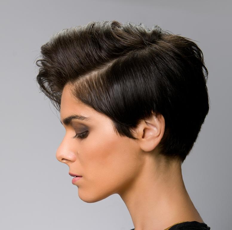 بالصور شعر قصير جدا , قصات وتسريحات للشعر القصير 2116 3