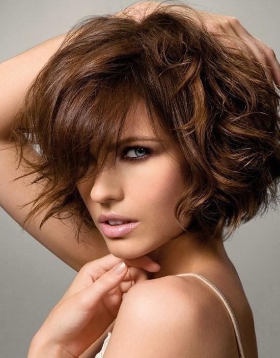 بالصور شعر قصير جدا , قصات وتسريحات للشعر القصير 2116 5