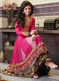 بالصور احدث الفساتين الهندية , تصاميم هنديه انيقه 220 3