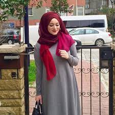 بالصور اطقم خروج للمحجبات , اجمل لبس للمحجبات 2350 8
