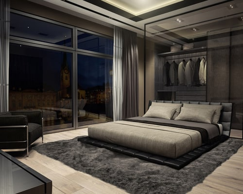 بالصور غرف نوم مودرن , تصمبم جميل لغرفه النوم 2638 6