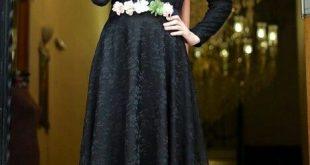 صورة فساتين حجاب تركية , اشيك فستان حجاب تركى