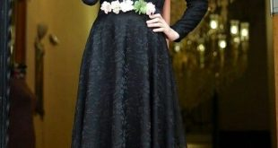 صوره فساتين حجاب تركية , اشيك فستان حجاب تركى