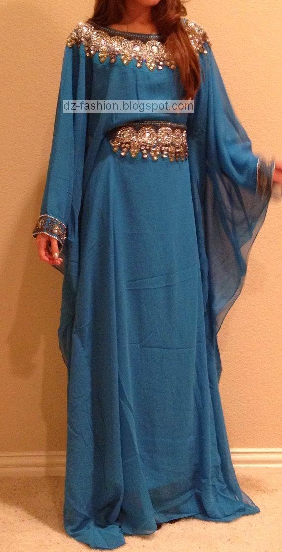 صورة قنادر و فساتين جزائرية , اشيك قنادر وفساتين جزائرية