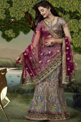 صور فساتين هندية في رام الله , اروع فساتين هندى فى رام الله
