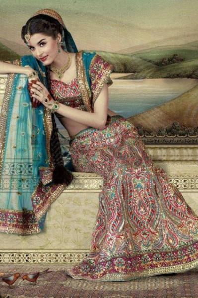 بالصور فساتين هندية في رام الله , اروع فساتين هندى فى رام الله 3099 3