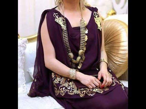 بالصور فساتين اعراس جزائرية نايلي , اجمل تشكيلة لفساتين نايلى للعرائس الجزائرية 3101 2