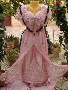 بالصور فساتين اعراس جزائرية نايلي , اجمل تشكيلة لفساتين نايلى للعرائس الجزائرية 3101 4