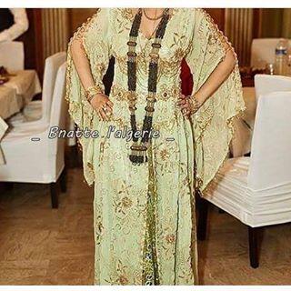 بالصور فساتين اعراس جزائرية نايلي , اجمل تشكيلة لفساتين نايلى للعرائس الجزائرية 3101 8