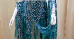 صوره فساتين اعراس جزائرية نايلي , اجمل تشكيلة لفساتين نايلى للعرائس الجزائرية