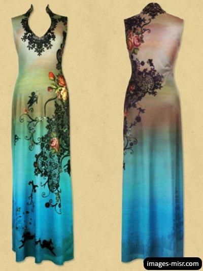 بالصور موديلات فساتين جزائرية صيفية , اروع ستايل لفستان صيف جزائرى 3114 3