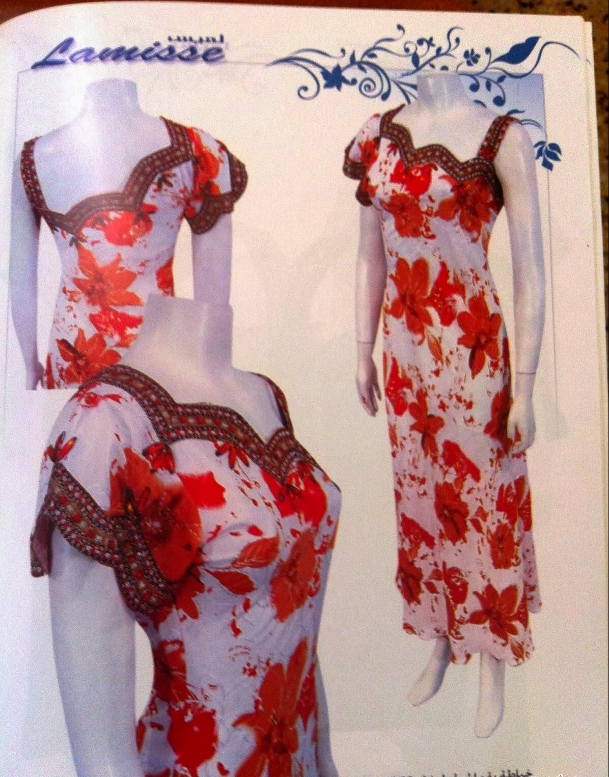 صوره موديلات فساتين جزائرية صيفية , اروع ستايل لفستان صيف جزائرى