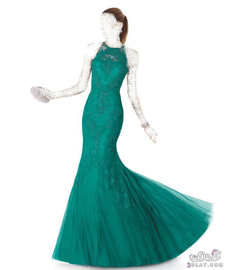بالصور الوان انيقة لفساتين السهرات 2019 , اجمل الالوان الانيقة لفساتين سهرة 2019 3119 3