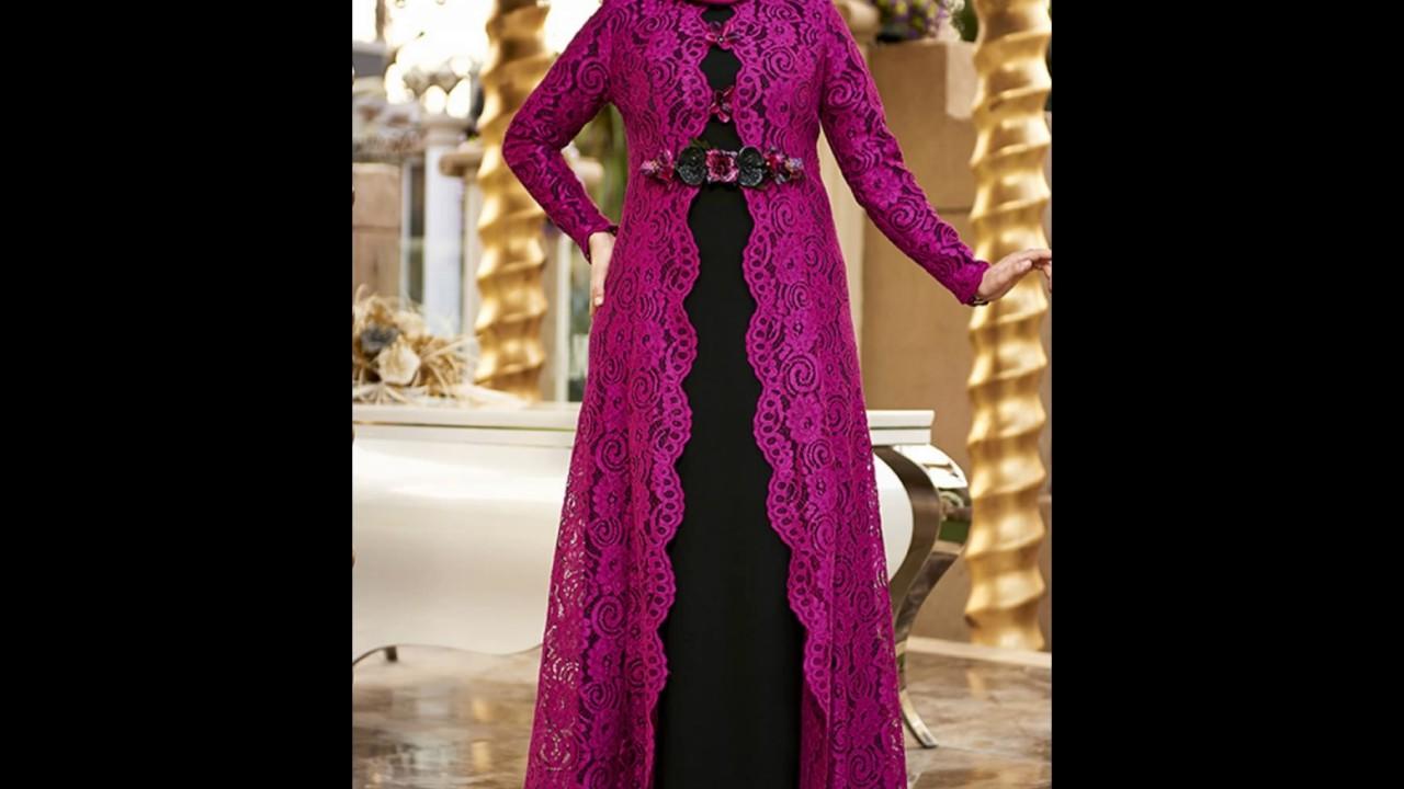 صوره موديلات فساتين دانتيل جزائرية , احدث موديلات الفساتين الجزائرية بالدانتيل
