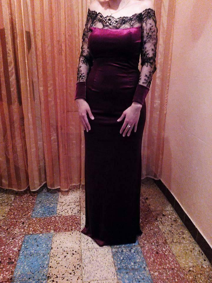 بالصور موديلات فساتين دانتيل جزائرية , احدث موديلات الفساتين الجزائرية بالدانتيل 3123 2
