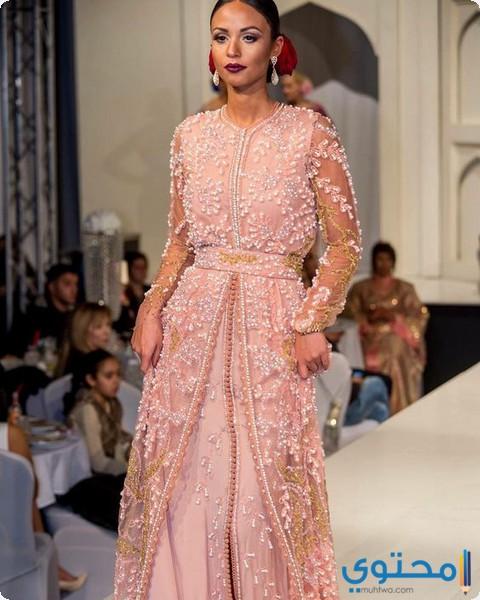 بالصور موديلات فساتين دانتيل جزائرية , احدث موديلات الفساتين الجزائرية بالدانتيل 3123 3