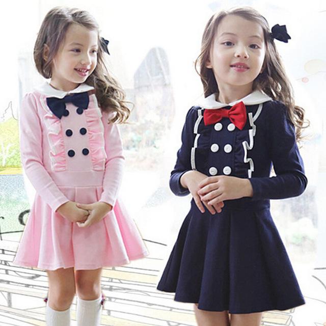 بالصور فساتين اطفال شتويه مخمل , احدث موديل فستان شتوى للبنات الصغار 3124 1