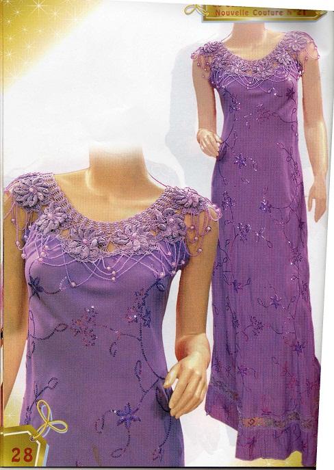 بالصور موديلات فساتين جزائرية كروشي , اجمل ستايلات لفساتين كروشيه جزائرية 3125