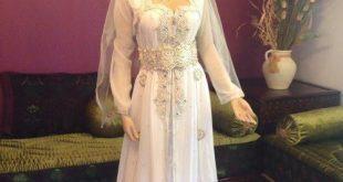 صوره فساتين اعراس جزائرية عصرية , احدث موديلات فساتين العرائس بالجزائر