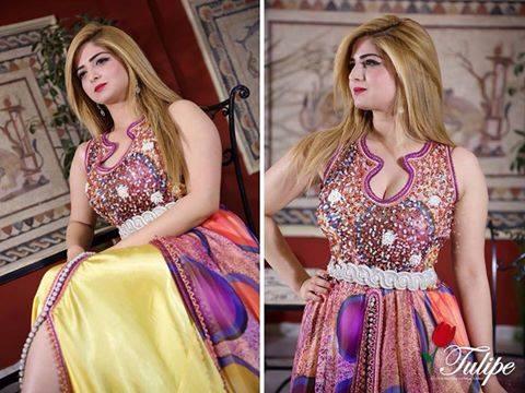 بالصور فساتين اعراس جزائرية عصرية , احدث موديلات فساتين العرائس بالجزائر 3151 3