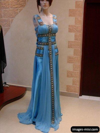 بالصور فساتين اعراس جزائرية عصرية , احدث موديلات فساتين العرائس بالجزائر 3151 9