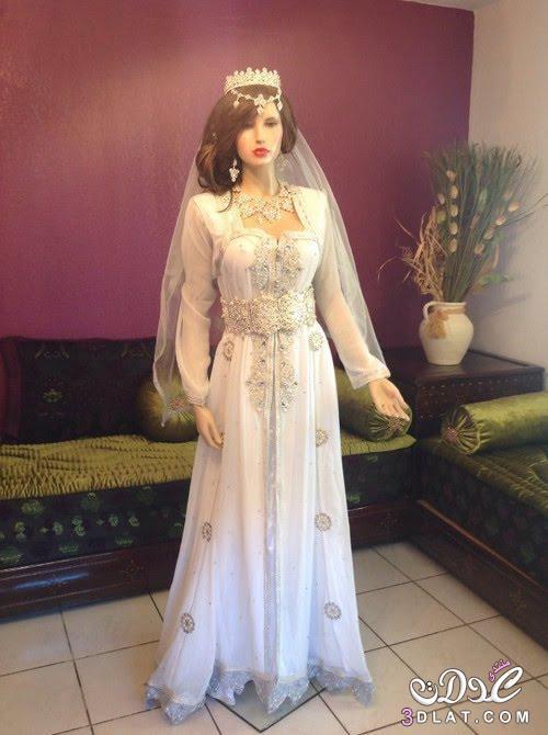 بالصور فساتين اعراس جزائرية عصرية , احدث موديلات فساتين العرائس بالجزائر 3151