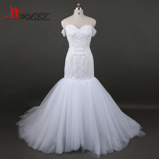بالصور صور فساتين زفاف مذهله , فستان عروسه رائع 3159 2
