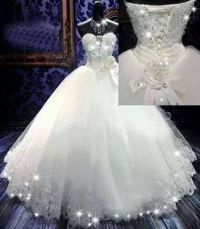 بالصور صور فساتين زفاف مذهله , فستان عروسه رائع 3159 6
