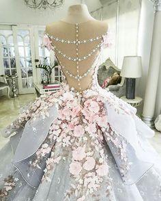 بالصور صور فساتين زفاف مذهله , فستان عروسه رائع 3159 8