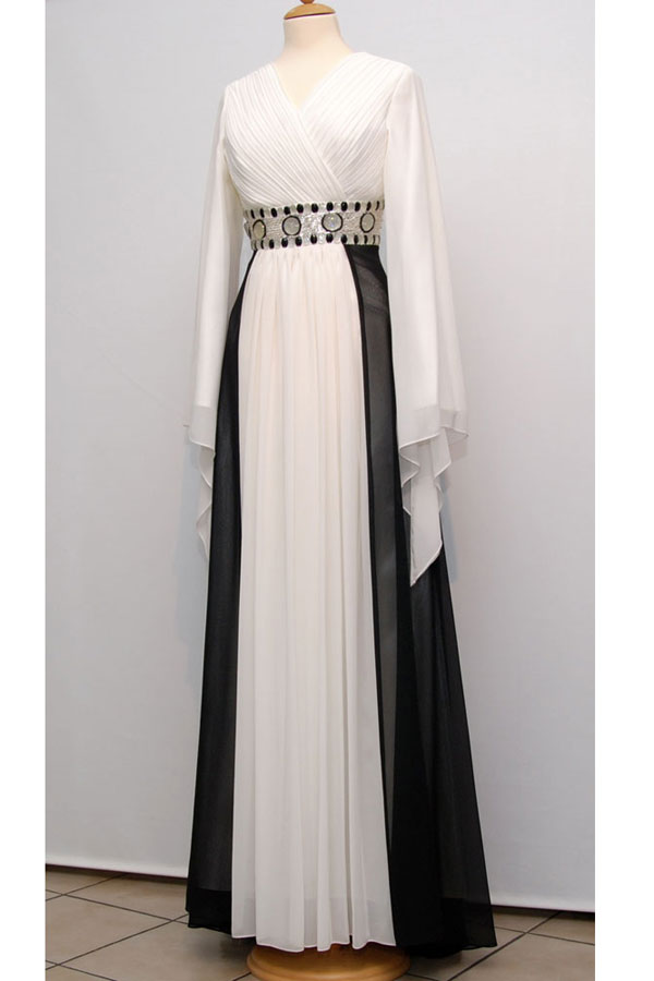 بالصور موديلات فساتين للعيد طويله , احلى فستان عيد 3165
