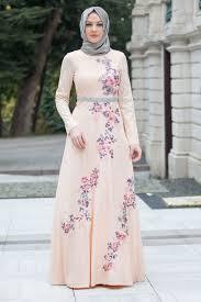 بالصور فساتين تركية رائعة للمحجبات , فساتين حجاب تحفه 3174 1