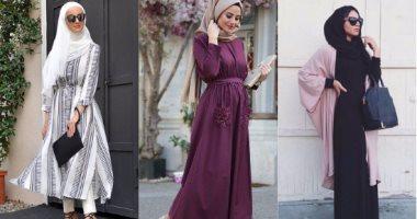 بالصور فساتين تركية رائعة للمحجبات , فساتين حجاب تحفه 3174 7