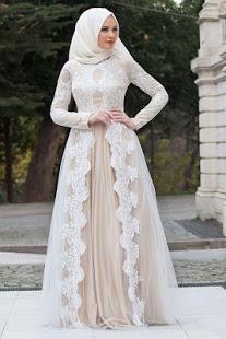 بالصور فساتين تركية رائعة للمحجبات , فساتين حجاب تحفه 3174
