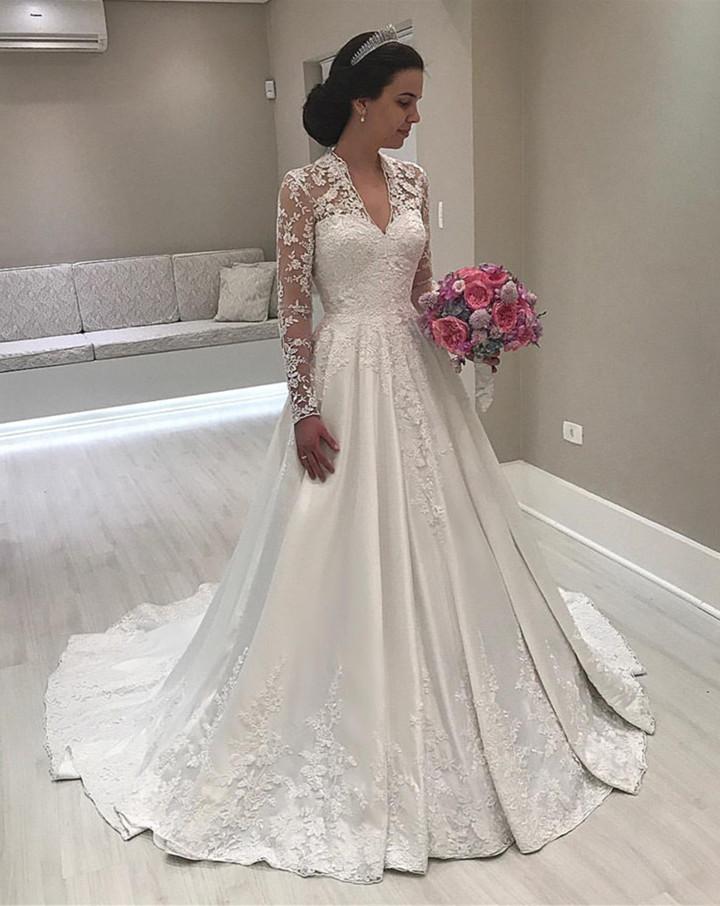 بالصور صور فساتين زفاف Wedding Dress , احلي فساتين زفاف 3198 2