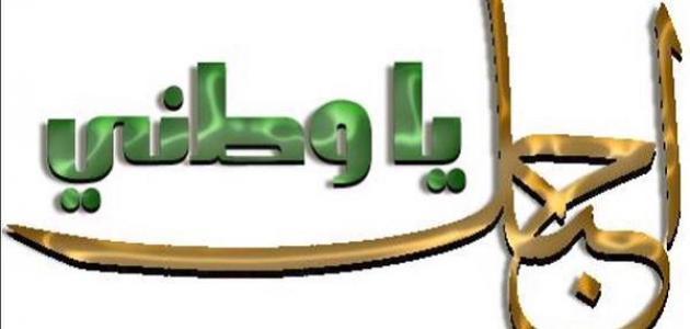 بالصور بيت شعر عن الوطن للشاعر احمد شوقي , وطني اجمل قصيدة 3470 1